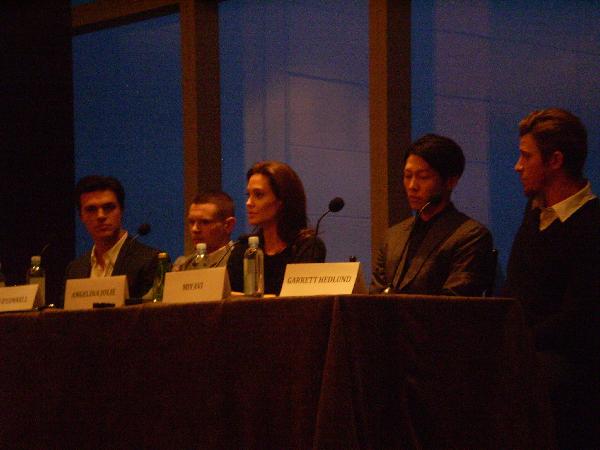 Unbroken press conference