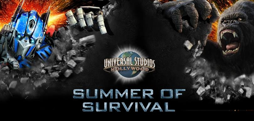 Universal Studios Hollywood Unleashes Its Summer of Survival Campaign Universal Studios Hollywood Unleashes Its Summer of Survival Campaign