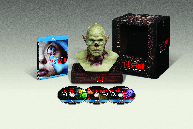 Unleash The Strain in the Season One Blu-ray Collector's Edition Twitter Giveaway
