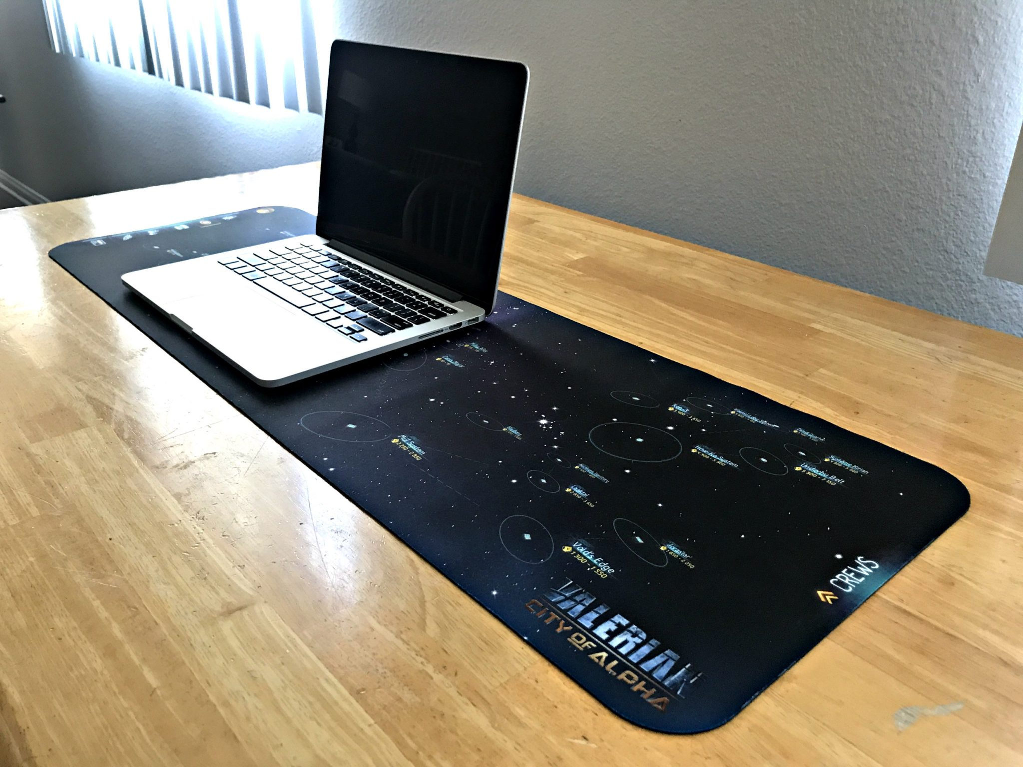 Valerian City of Alpha Mouse Pad 4