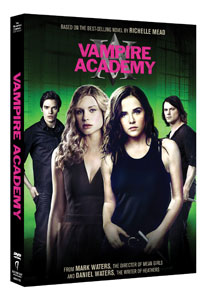 Vampire Academy on DVD