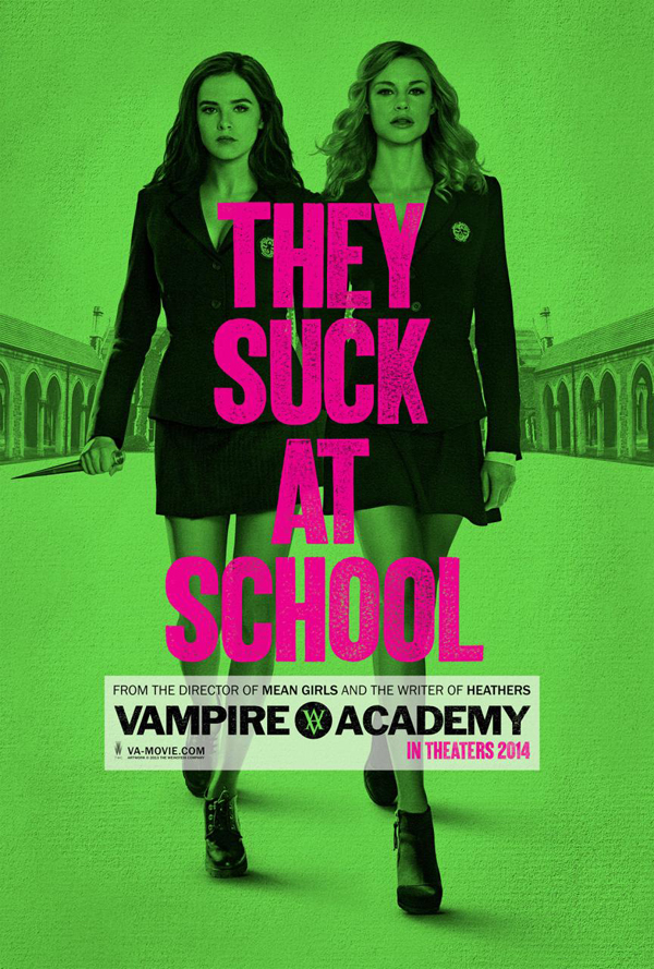 Vampire Academy Poster Vampire Academy Movie Review