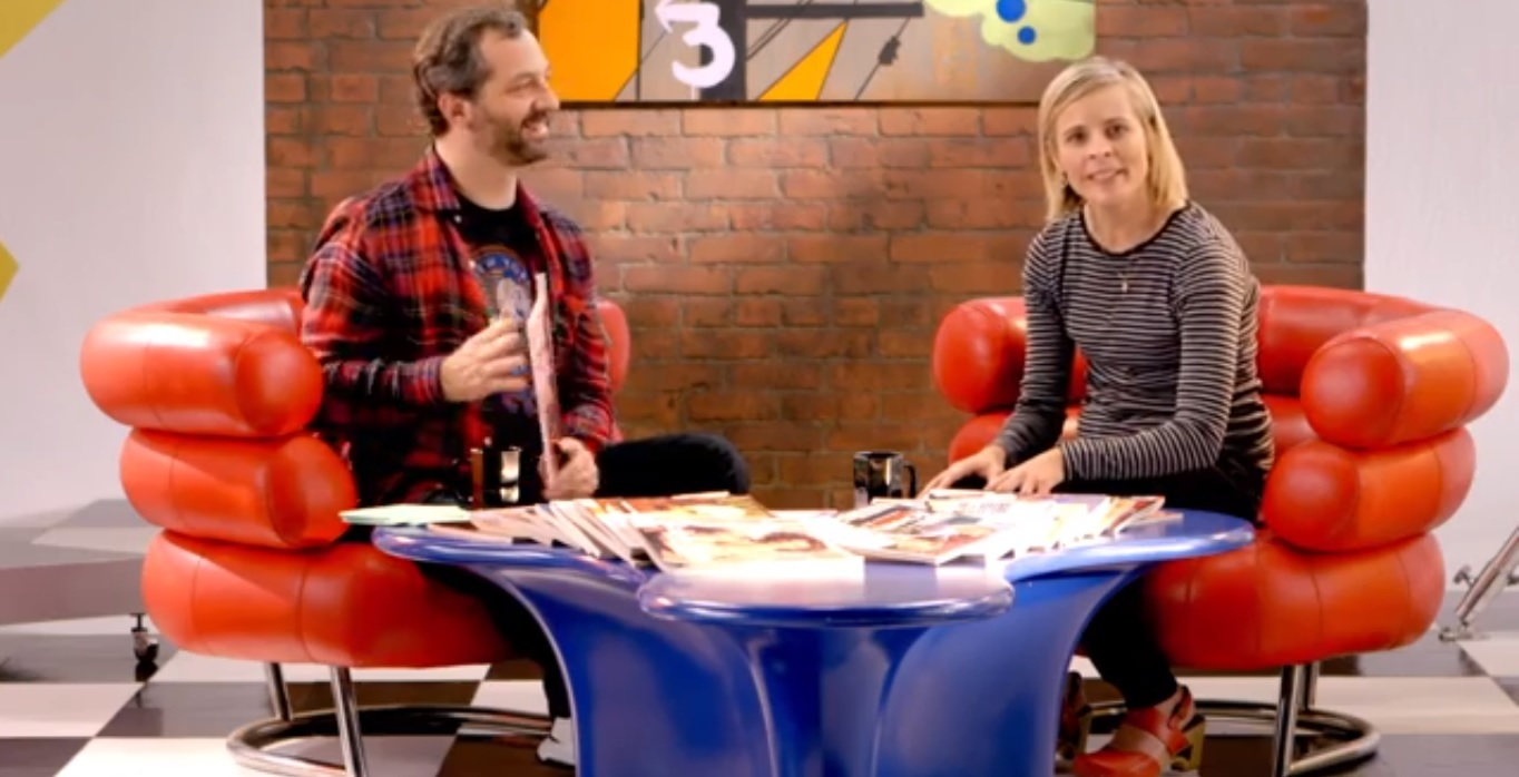 Vanity Fair Decades Series The 90s Judd Apatow and Maria Bamford Discuss the 90s In Vanity Fairs Last Decade Series Video