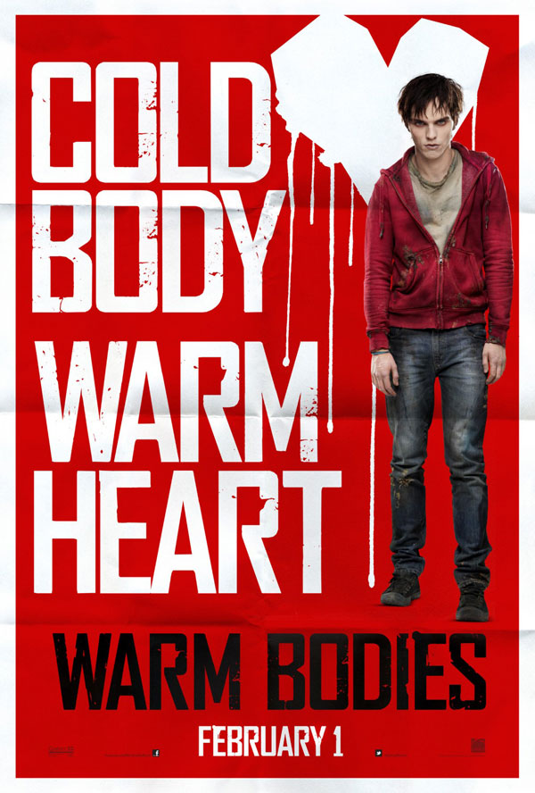 Warm Bodies Poster Warm Bodies Movie Review