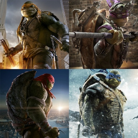 Watch The Teenage Mutant Ninja Turtles In Action With Motion Posters