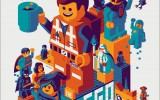 Tom Whalen The LEGO Movie Mondo Poster
