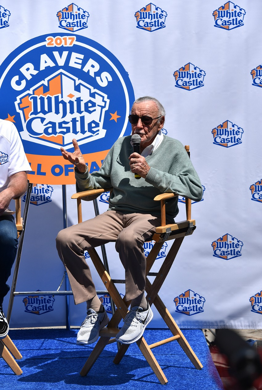 Stan Lee Honored by White Castle
