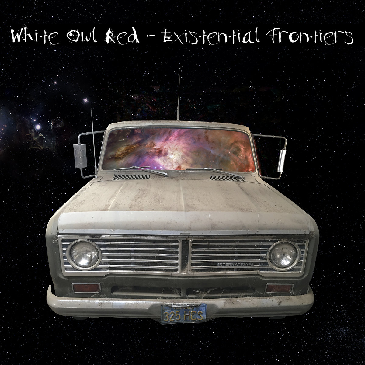 White Owl Red's Existential Frontiers Album Cover