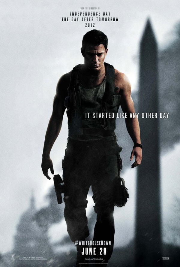 White House Down Poster White House Down Movie Review