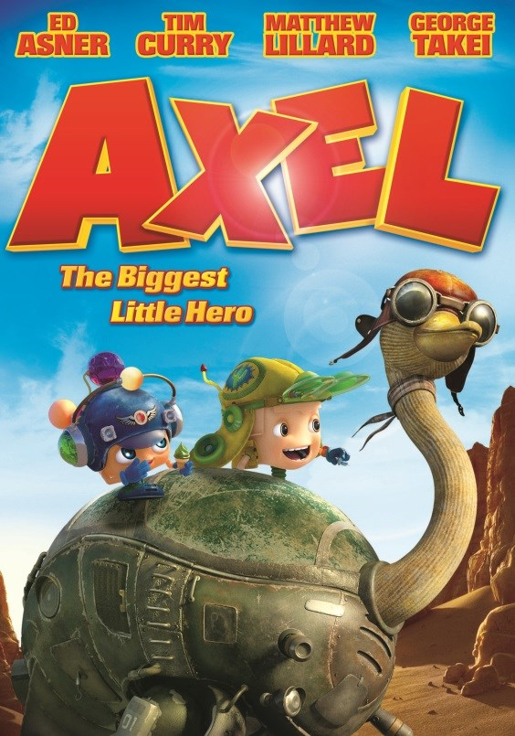 Win an Axel: The Biggest Little Hero DVD in Shockya's Twitter Giveaway