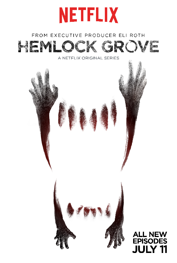 Witness a Werewolf Transformation in New Hemlock Grove Season 2 Clip Witness a Werewolf Transformation in New Hemlock Grove Season 2 Clip