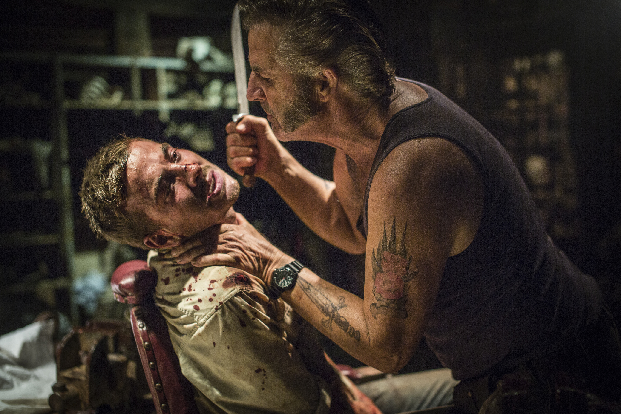 Wolf Creek 2 John Jarratt and Ryan Corr In Torture Chamber Get Pulled Into Wolf Creek 2 with Newly Released Photos and Poster