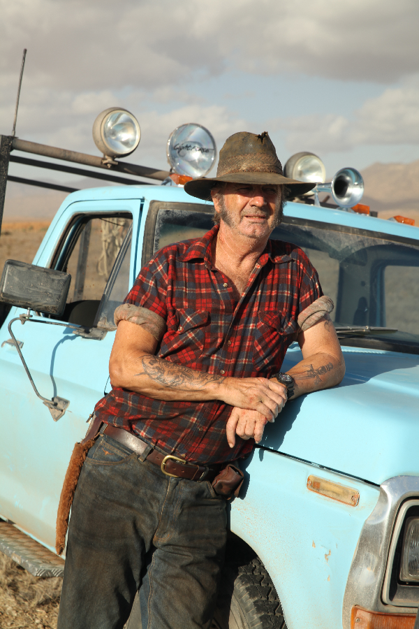 Wolf Creek 2 John Jarratt as Mick Taylor with His Hunting Ute Get Pulled Into Wolf Creek 2 with Newly Released Photos and Poster
