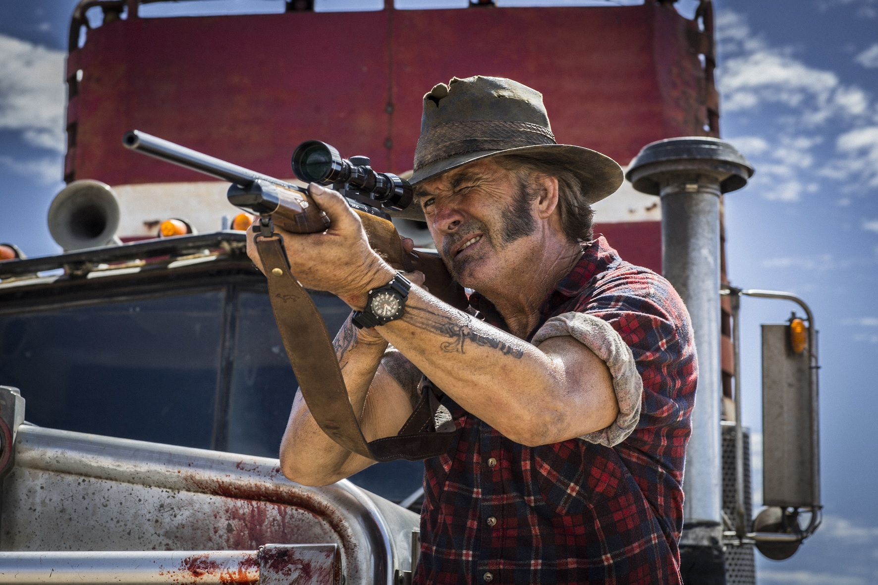 Wolf Creek 2 John Jarratt Enter in ShockYas Wolf Creek 2 Twitter Giveaway!
