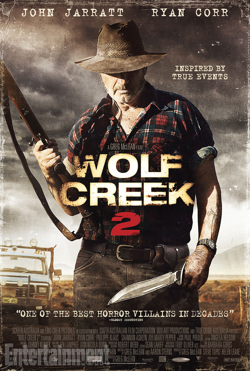Wolf Creek 2 Exclusive: Behind the Scenes Clip from Wolf Creek 2 Goes Over the Edge
