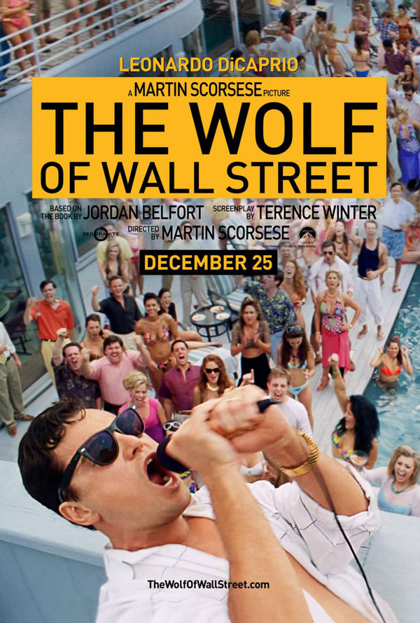 Wolf of Wall Street Poster The Wolf of Wall Street Movie Review