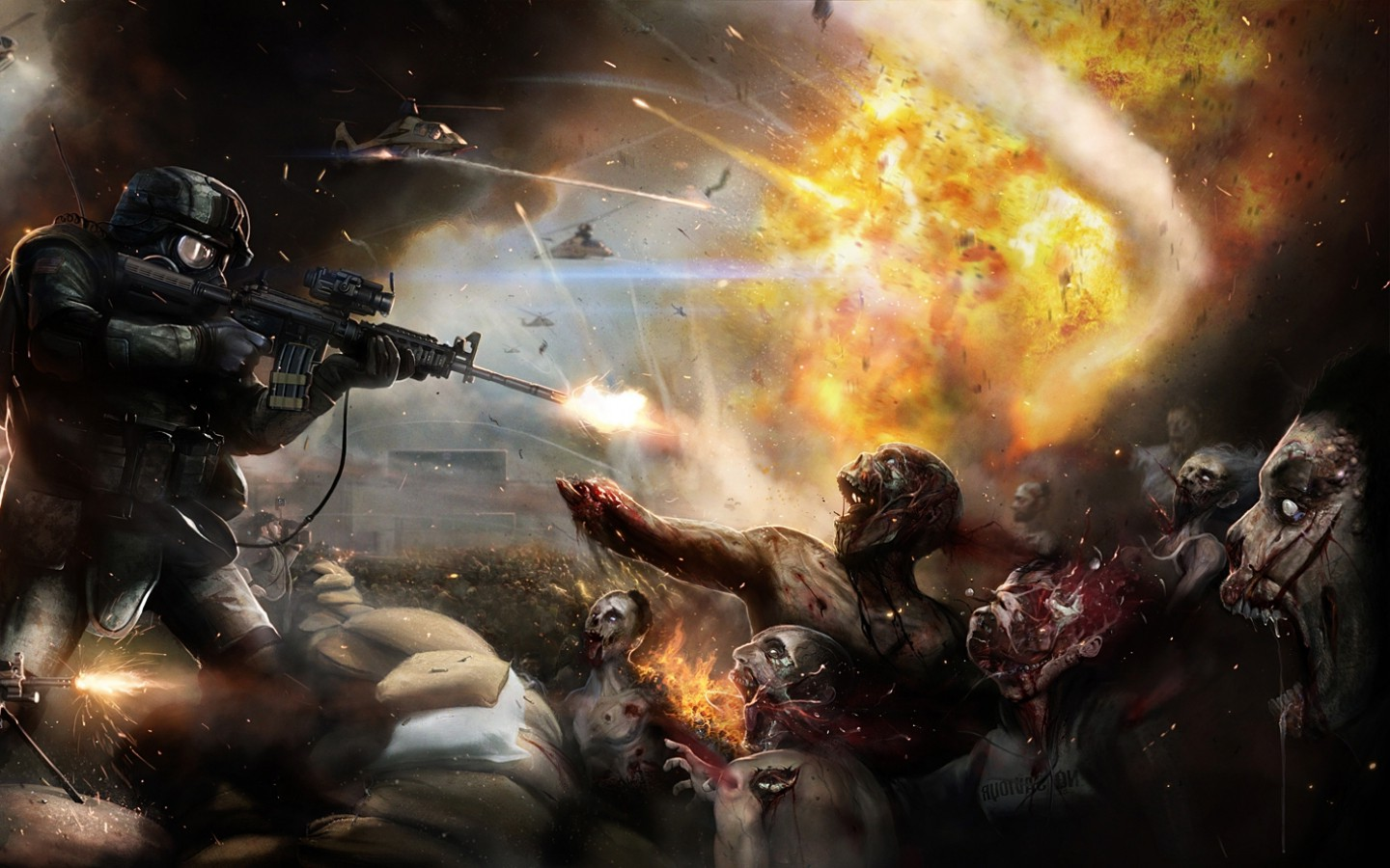 World War Z Concept Art Watch An Extended Clip from World War Z