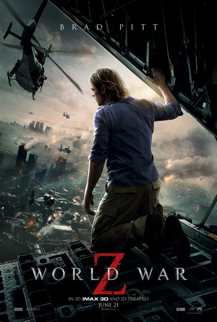 World War Z poster World War Z International Poster Shows Land Of Carnage