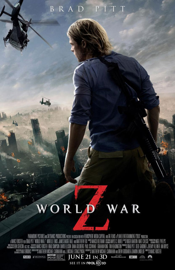 World War Z Poster World War Z Movie Review