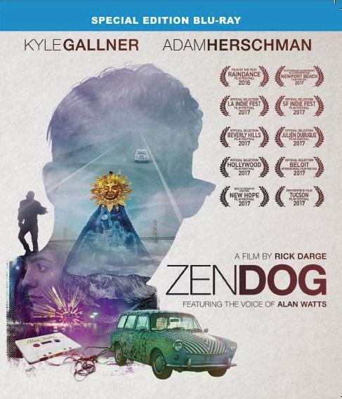 Zen Dog Blu-ray Cover