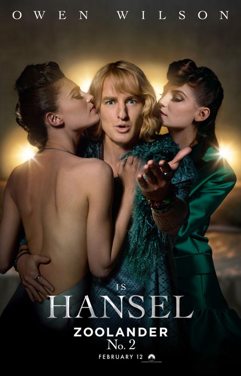 Zoolander No. 2-Owen Wilson as Hansel