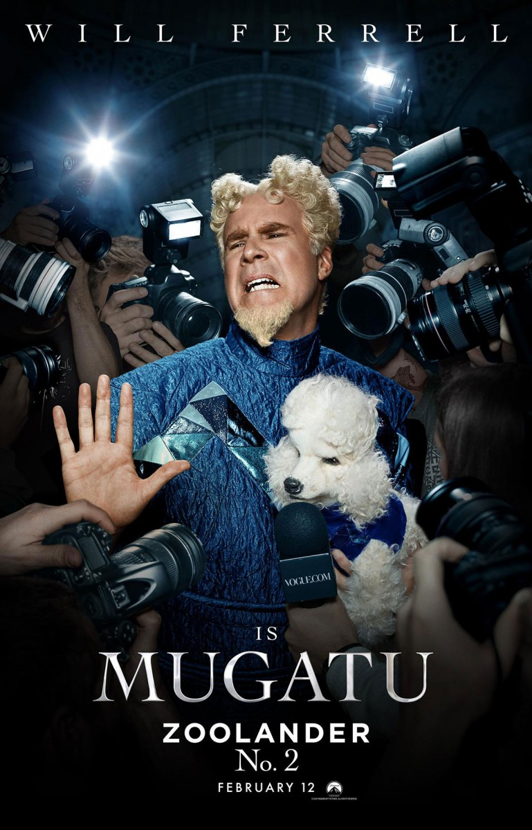 Zoolander No. 2-Will Ferrell as Mugatu