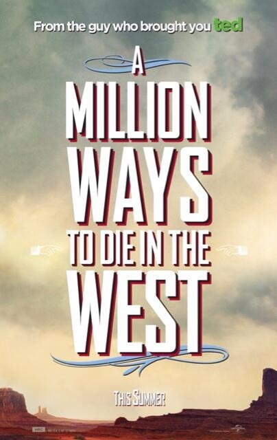 a million ways to die in the west character one sheet 01 A Million Ways To Die In The West Gets New Character Posters