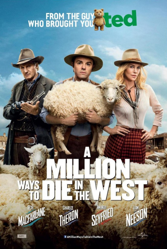 a million ways to die in the west poster.jpg A Million Ways To Die In The West Gets A New Poster