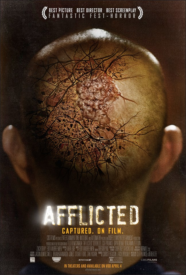 afflicted poster FilmOn Gets One on One Interview with the Filmmakers Behind Afflicted