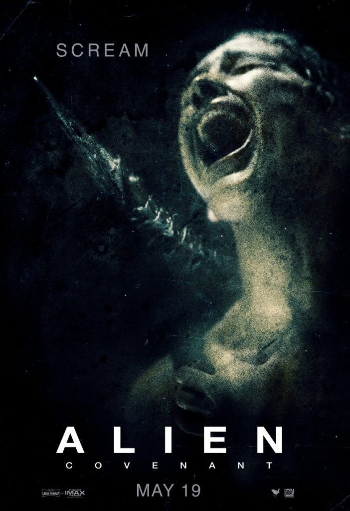alien covenant scream poster