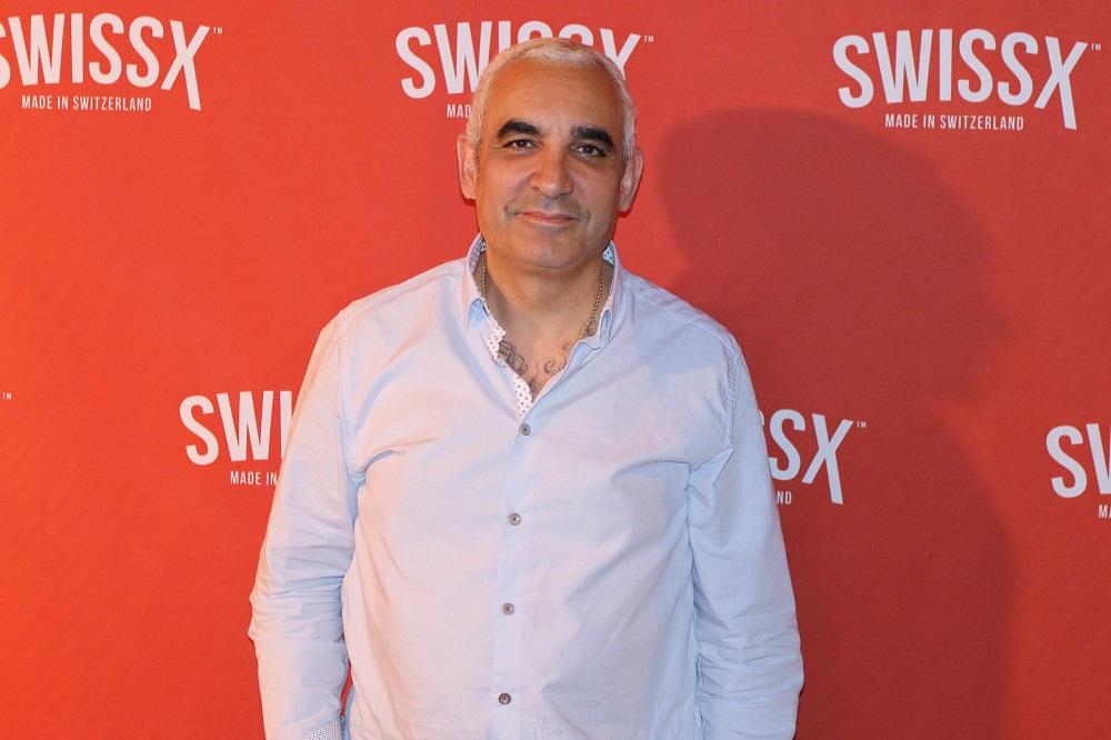 Alki David on the SwissX Red Carpet