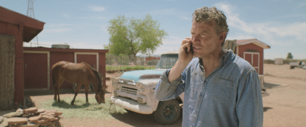 Tate Donovan as Allen King in writer/director Evan Wolf Buxbaum's SUN BELT EXPRESS, opens in theaters Fall 2014.