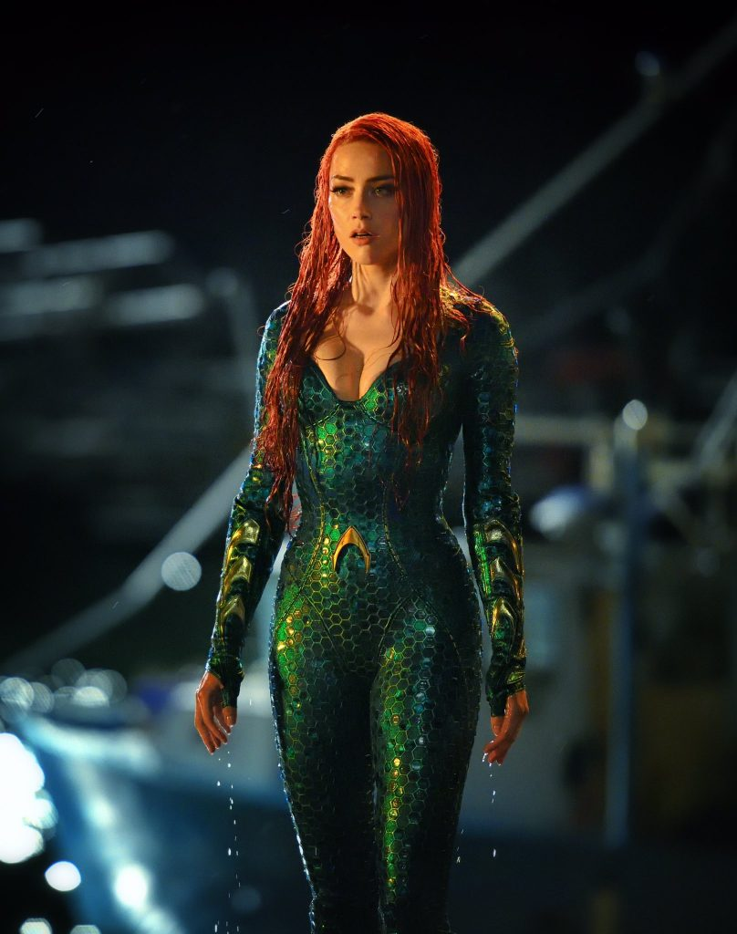 amber heard aquaman lady mera