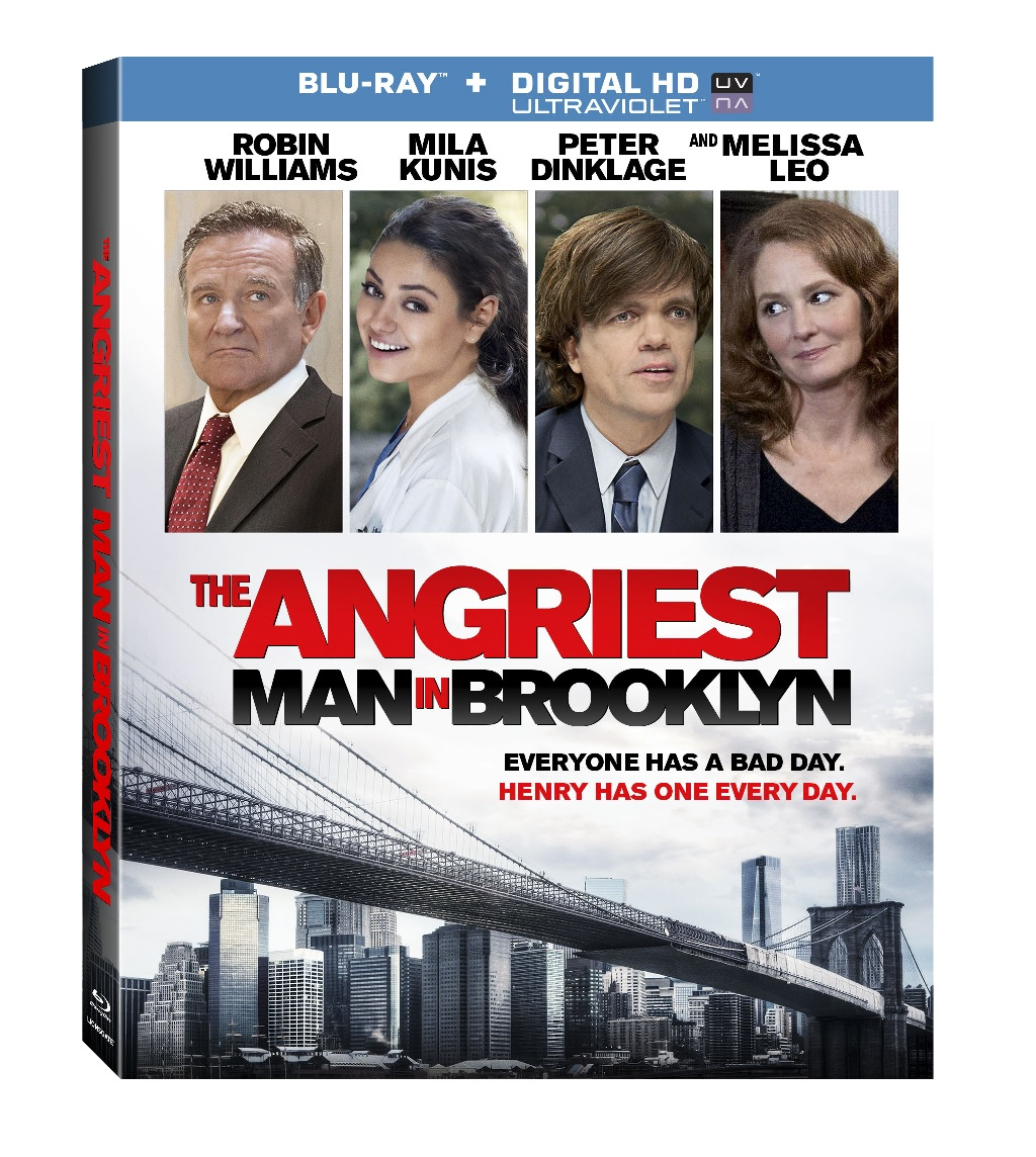 amib Blu ray Exclusive: Clip from The Angriest Man In Brooklyn Goes Behind the Scenes