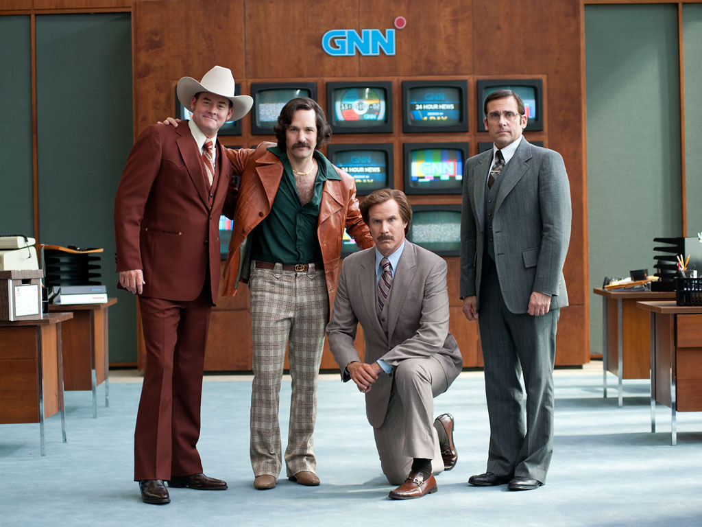 anchorman 2 review Anchorman 2: The Legend Continues Movie Review