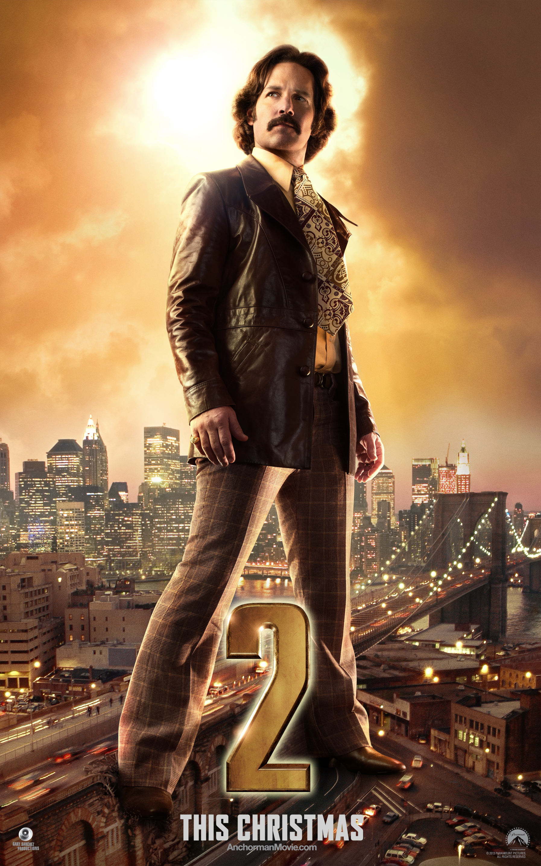 Anchorman 2: The Legend Continues Builds Legacy with Brian Character Poster