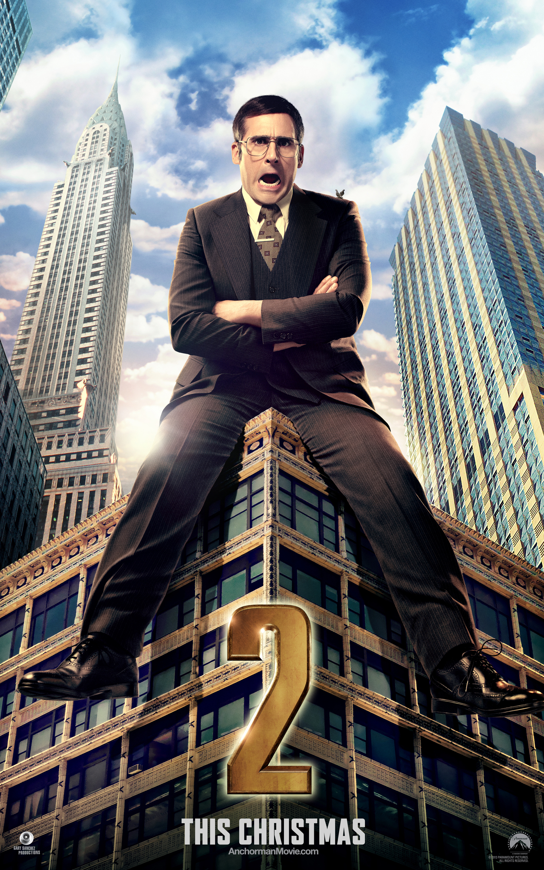 Anchorman 2: The Legend Continues Builds Legacy with Brck Character Poster