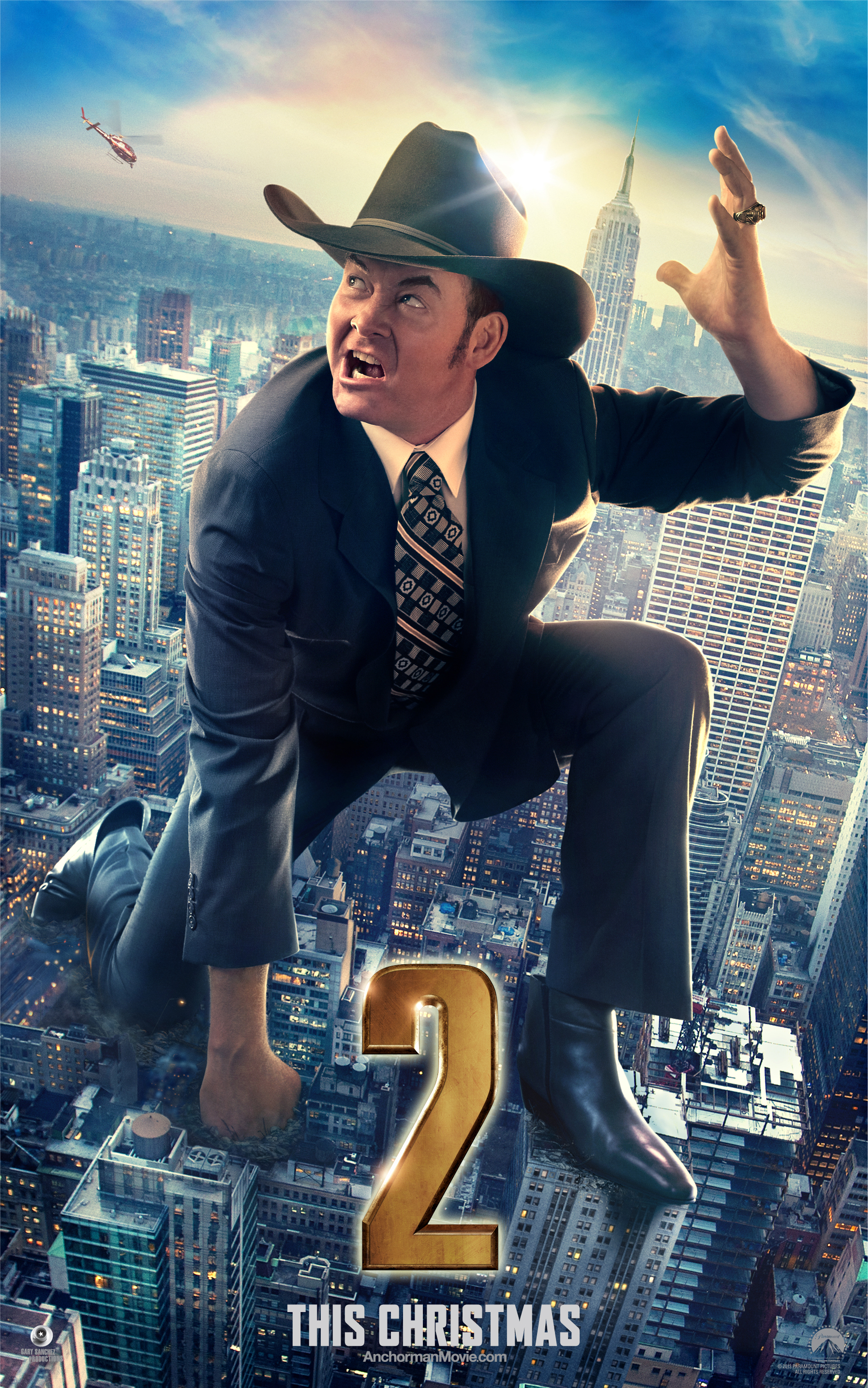 Anchorman 2: The Legend Continues Builds Legacy with Champ Character Poster