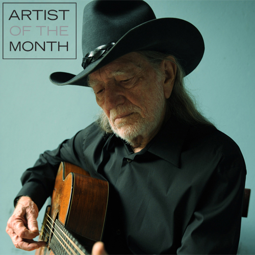 artist of the month willie nelson Willie Nelson Is Legacy Recordings Artist Of The Month, Celebrates New Album