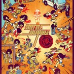 battle royale bryan lee omalley kevin tong mondo 150x150 Final Dredd 3D Poster Premiered On Yahoo! Movies!