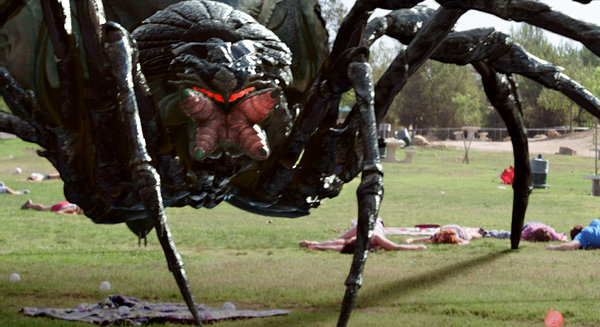 big ass spider review DVD Column: The Wolverine, Linsanity, Sanitarium, Big Ass Spider!