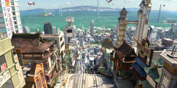 big hero 6 prod 4 Big Hero 6 Early Press Day: Designing the World of San Fransokyo