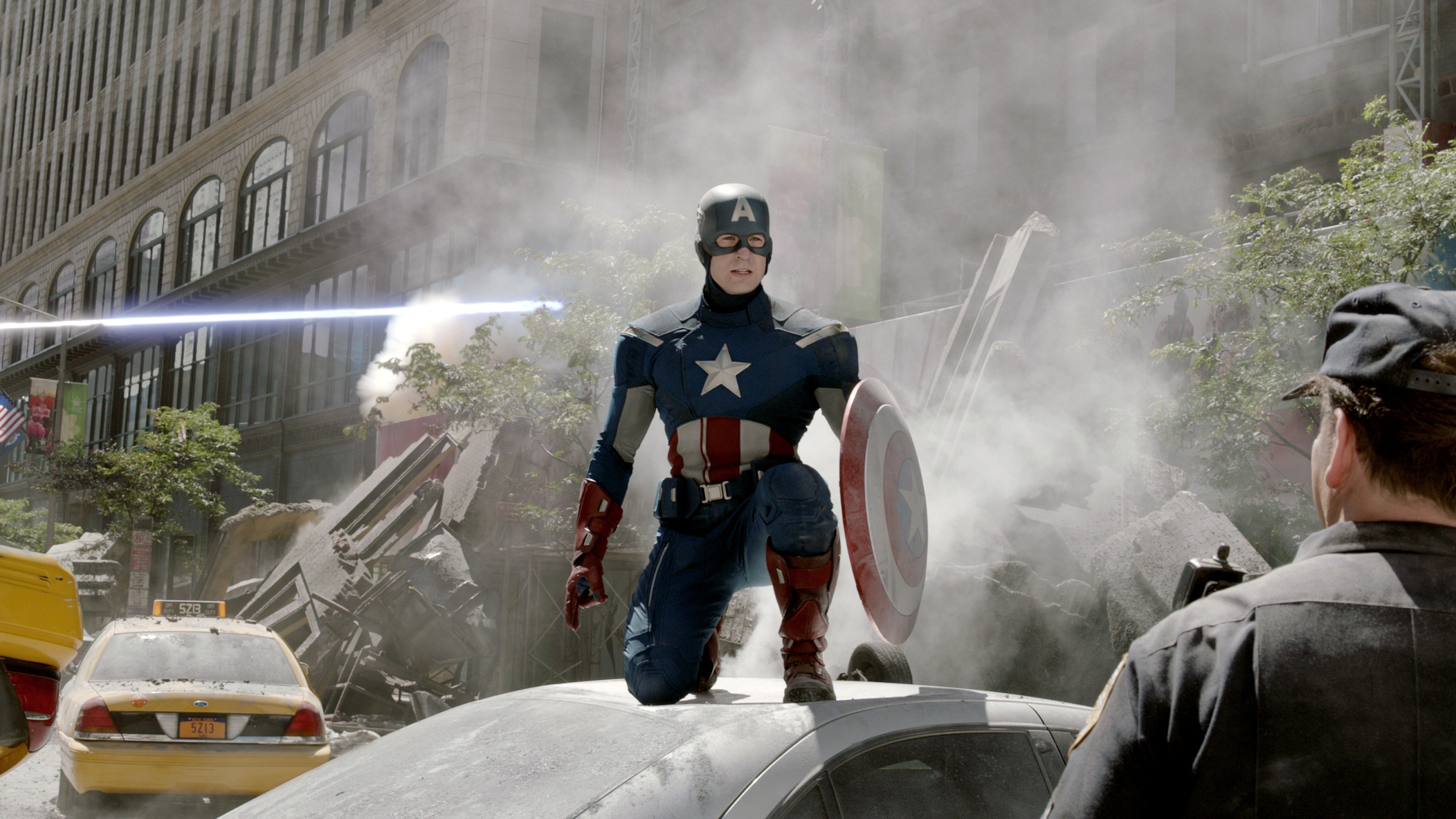 cap 2 Interview with Cast and filmmakers of Captain America: The Winter Soldier