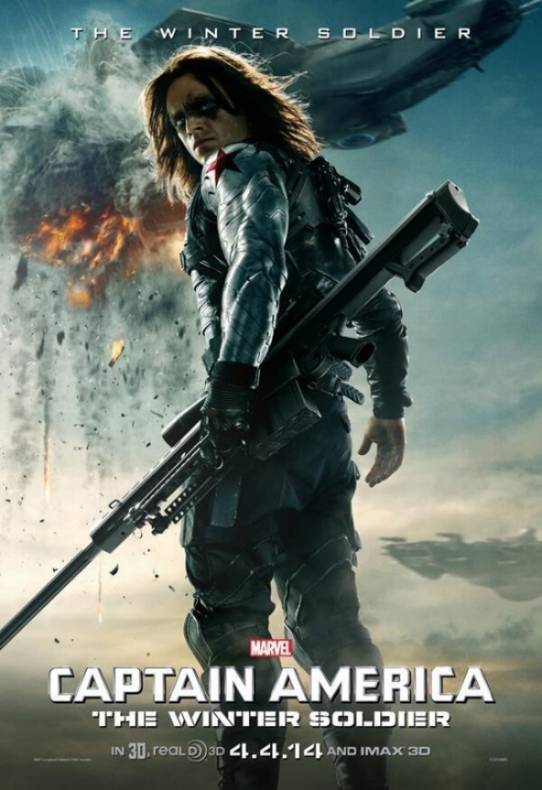 captain america the winter soldier character poster the winter soldier.jpg Captain America: The Winter Soldier Gets A New Character Poster