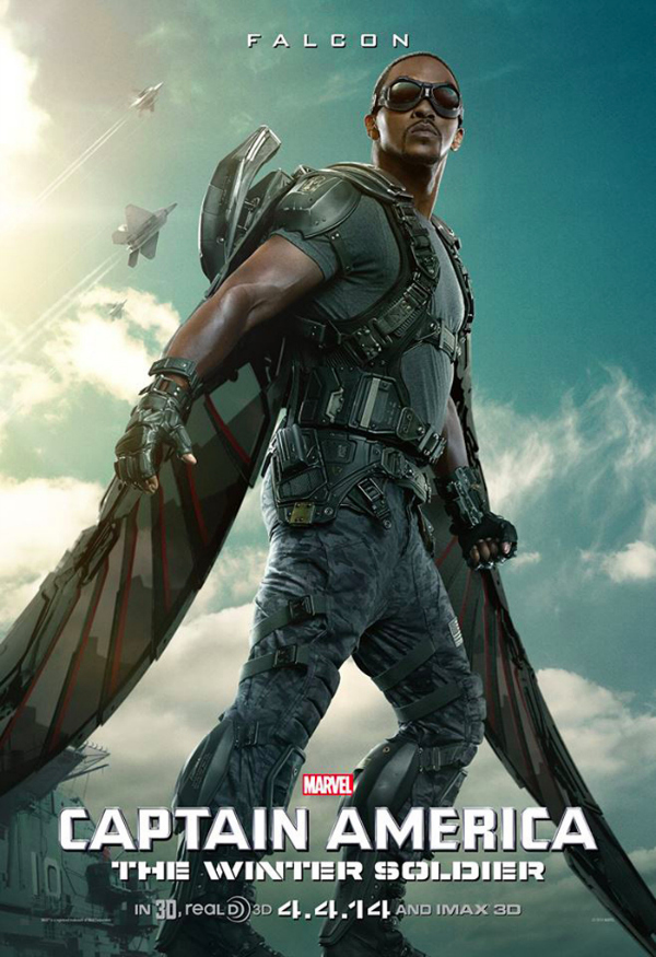 captain america the winter soldier falcon poster.jpg Captain America: The Winter Soldier Gets A New Character Poster Featuring The Falcon