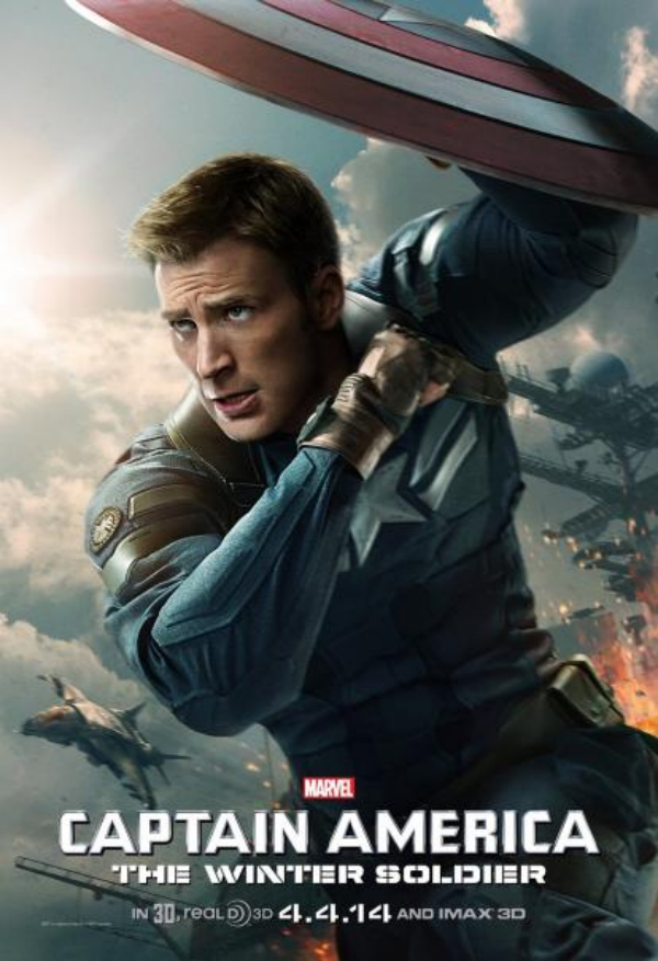 captain america the winter soldier poster chris evans.jpg Captain America: The Winter Soldier Gets A New Poster