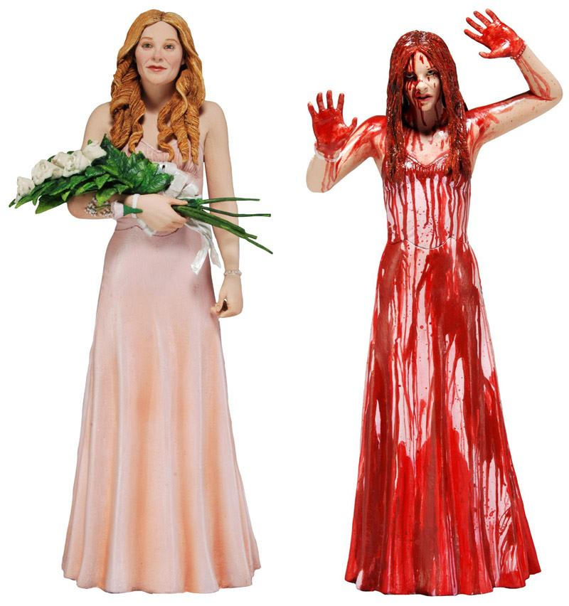carrie 2 pack NECA To Release New Carrie Collectible Figurines