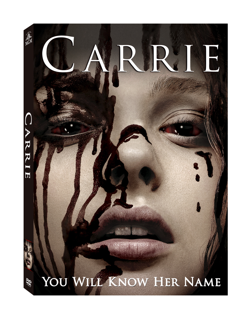 carrie bluray dvd CarrieDVD rgb Carrie Coming to Blu ray and DVD This January,Win a Copy From ShockYa!