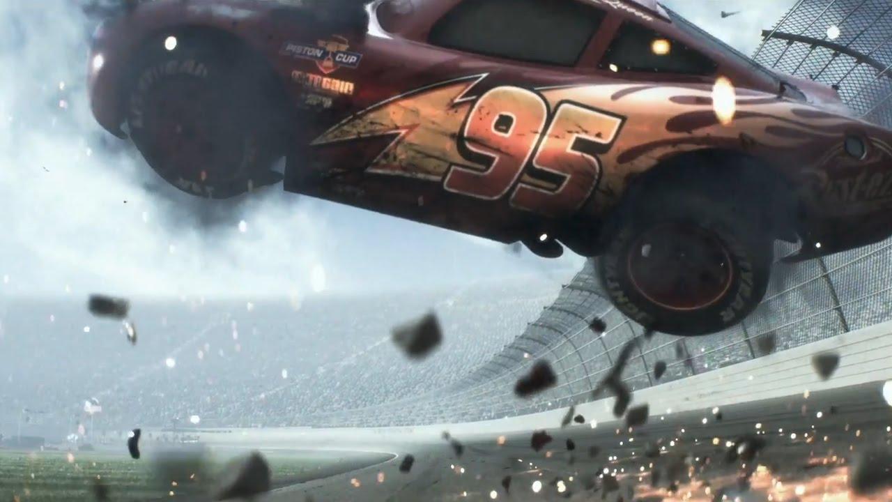 Lightnimg Mcqueen Crash Car