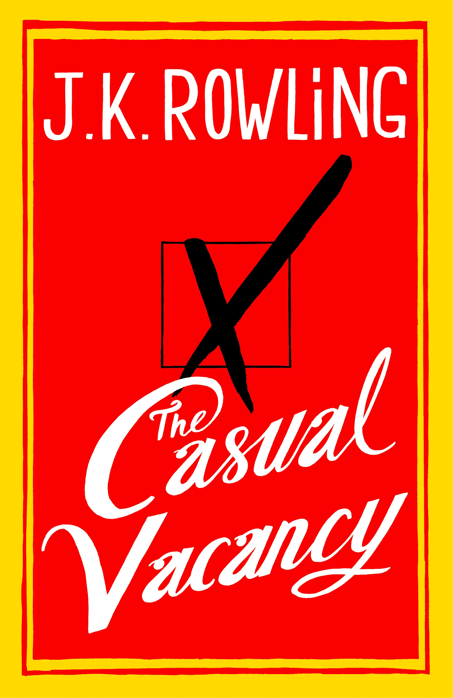 casual vacancy cover J.K. Rowlings The Casual Vacancy To Become a BBC HBO Joint Miniseries